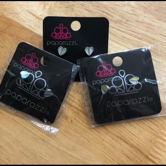 Paparazzi Jewelry Bundle Heart Earrings